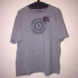 Grey Tommy Hilfiger T Shirt