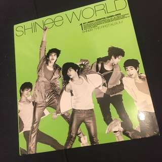 SHINee - The First Album CD