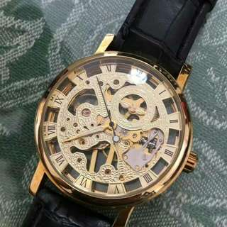 Authentic Gold Mechanical Watch box included for the price of 3500 Rush Sale pm me for interested buyer meet up location Market Market, Taguig Area