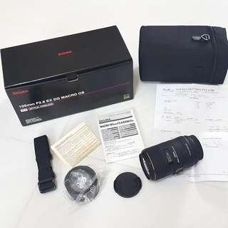 ĺSigma 105mm F2.8 EX DG MARCO OS