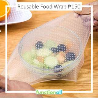 REUSABLE FOOD WRAP CLINGWRAP