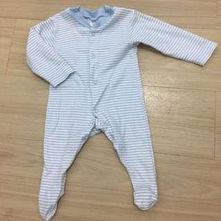 PRELOVED Junior Stripes Frogsuit/Onesie/Overall👶🏻