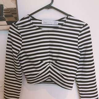 Alice McCALL Crop Top (Size 6)