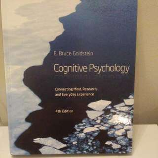 **PRICE DROP** (PSY270) Cognitive Psychology: 4th Edition