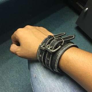 leather bangles