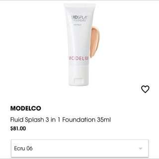 Modelco Fluid Splash 3 in 1 Foundation