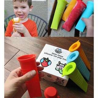美國 寶寶矽膠製冰器 (四入一組) Kinderville