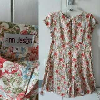 Ann Design Flower Dress