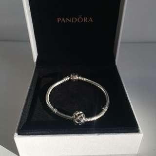 Pandora Silver Bracelet with Charm