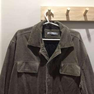 Roger David Corduroy Khaki Jacket