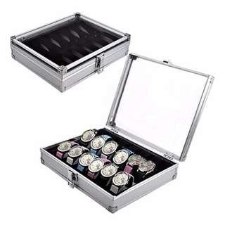 10 slot Aluminium Watch Case Brand New
