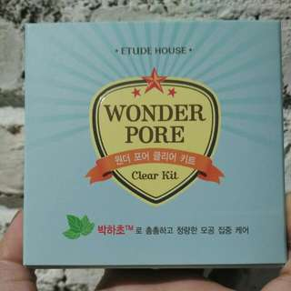 NEW : Etude House Wonder Pore Clear Kit