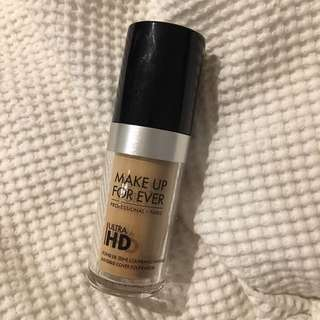 Makeup Forever Ultra HD Foundation shade Y245
