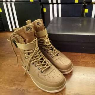 NIKE SPECIAL FIELD AIR FORCE BROWN KHAKI