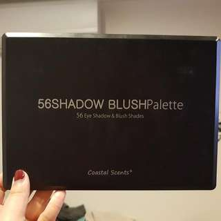 Coastal Scents 56 Eyeshadow And Blush Palette