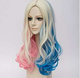 High Quality Harley Quinn Cosplay Wig