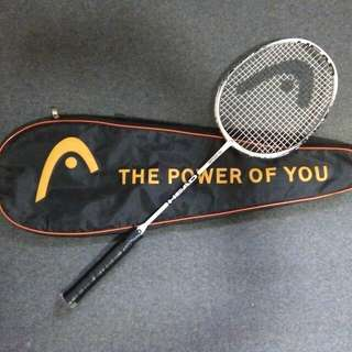HEAD Badminton Racket + Badminton Bag