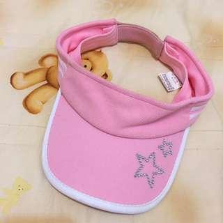 Made In Korea 粉紅星星網球帽 遮陽帽
