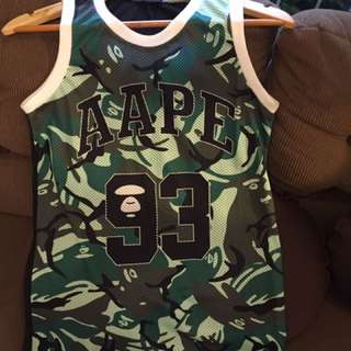 A Bathing Ape Camou Jersey (small)