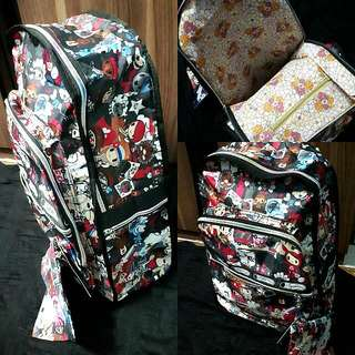 Backpack With Free Pouch