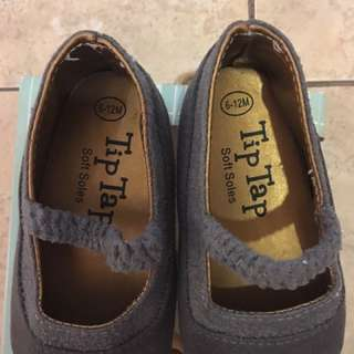 Tip Tap Suede Shoes