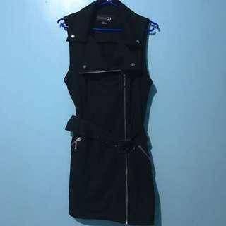 FOREVER21 Zipup Dress