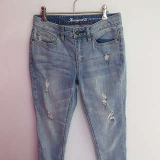 Jeanswest Ripped Skinny Jeans