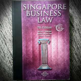 Singapore Business Law Textbook  - 7th EDITION