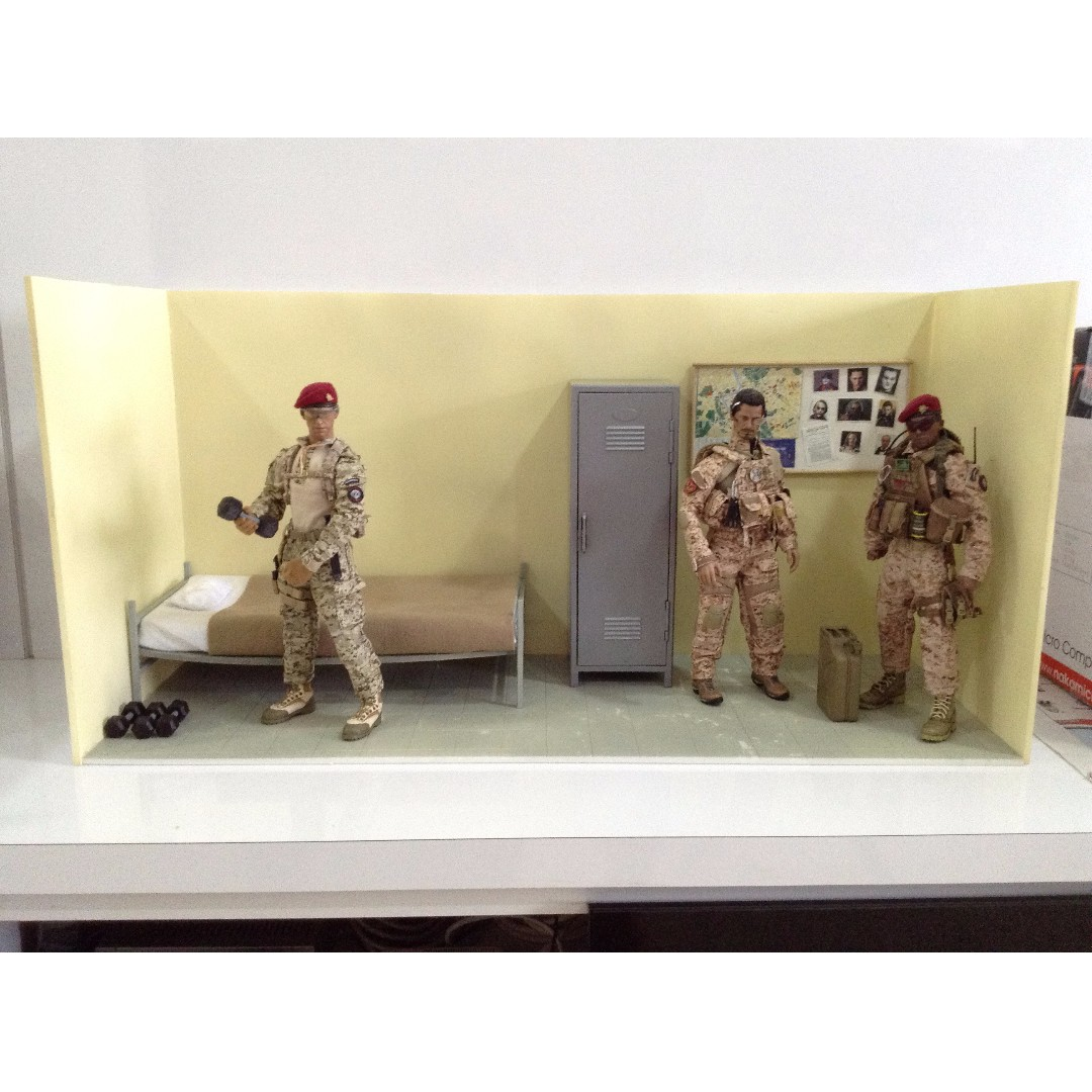 1/6 Scale Military Army Officer Bunk Diorama, Toys & Games