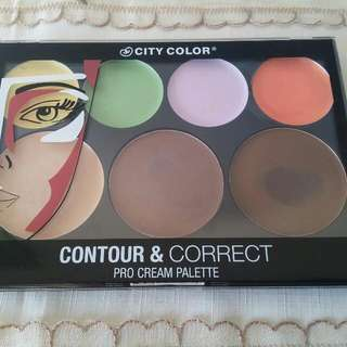 Contour And Correct Pro Cream Pallete City Color