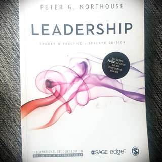 Leadership Textbook (COR 169) - Peter G Northouse