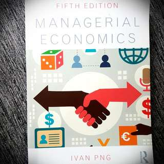 Managerial Economics Textbook (ECO201) - 5th Edition