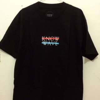 NEW Know Wave Black Shirt