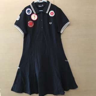 Fred Perry Black Dress