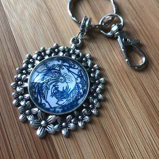Key Chain . Bag Charm . DIY Kit . Requires assembly . Teaching & craft supplies