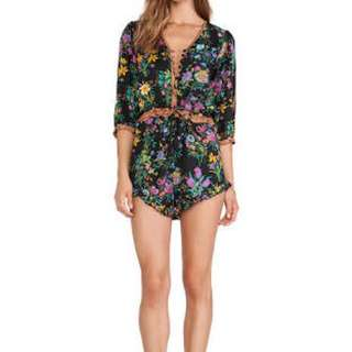 SPELL DESIGNS GYPSY QUEEN PLAYSUIT XS