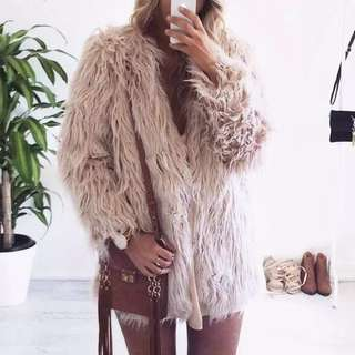 Warm Winter Coat Faux Fur Fluffy Jacket