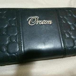 Black OROTON leather Wallet