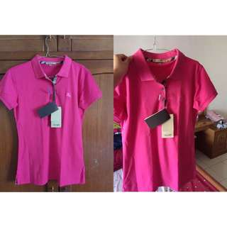 Polo Shirt By Burberry London