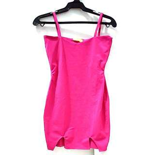 Sky Castle hot pink bodycon dress