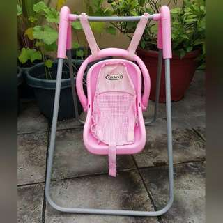 Graco 2in1 Doll Swing And Carrier