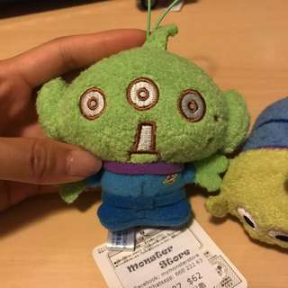 三眼仔 Tsum Tsum Soft Toy