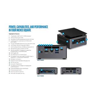 INTEL NUC BOX NUC7I5BNH i5-7260U