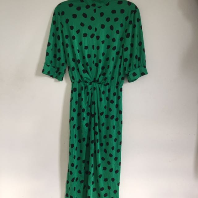 1980's Vintage Handmade Dress Size 12 by Ottino