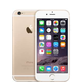 GOLD IPHONE 6 128GB 6 MONTHS OLD COMES WITH SWAROVSKI COVER!