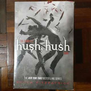 [ REDUCED ] The Complete HUSH HUSH Saga HARDCOVER BOXSET [ Book 1 to 4 ]