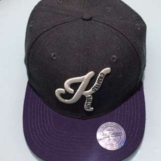 H&M Gray/Purple Snapback