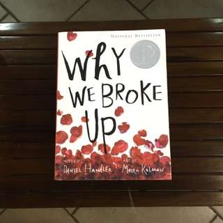 🚩REPRICED.    Why We Broke Up by Daniel Handler