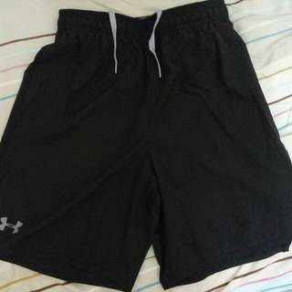 UA Umder Armour 運動短褲 慢跑 籃球褲 舒適 透氣 熱銷款式 M號 僅此1件(9成新)(免運費)
