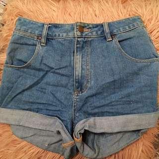 Wrangler Hourglass Shorts